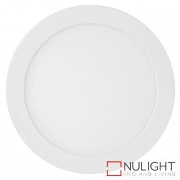 White Round Recessed Panel Light 18W 240V Led Warm White HAV