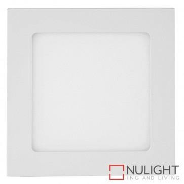 White Square Recessed Panel Light 9W 240V Led Warm White HAV