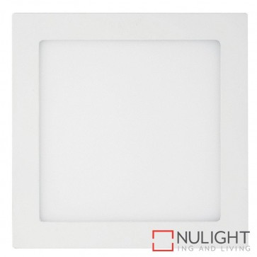 White Square Recessed Panel Light 18W 240V Led Cool White HAV