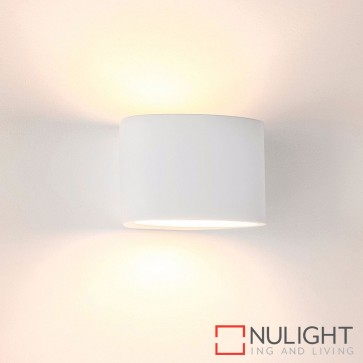 Arc Small Plaster Surface Mounted Wall Light 2W G9 Led Warm White HAV