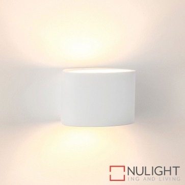 Arc Large Plaster Surface Mounted Wall Light 3W E14 Led Cool White HAV