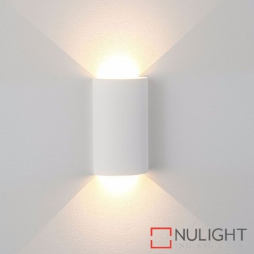 Gallery Round Plaster Surface Mounted Wall Light 2 X 3W 240V Led Warm White HAV