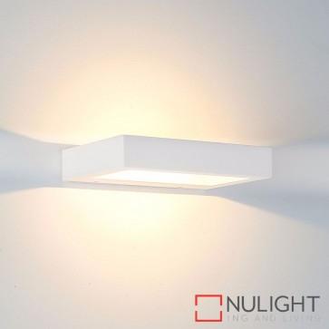 Shimmer Plaster Surface Mounted Wall Light 3W 240V Led Cool White HAV