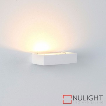 Sunrise 150 Plaster Surface Mounted Wall Light 2W G9 Led Warm White HAV
