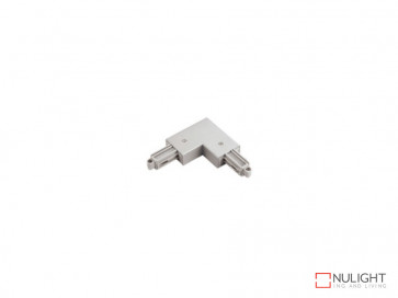 Corner Joiner To Suit Vibe LED Single Circuit Track Lighting In White VBL