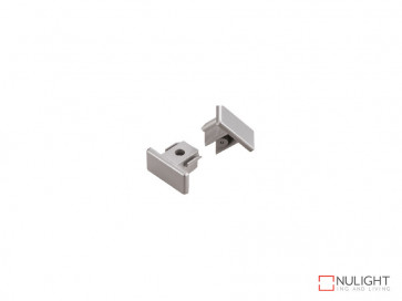 End Cap To Suit Vibe LED Single Circuit Track Lighting In White VBL