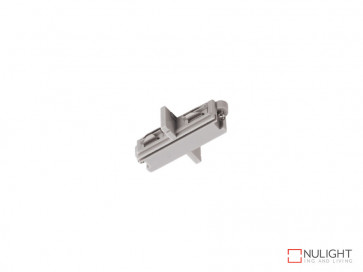 Straight Joiner To Suit Vibe LED Single Circuit Track Lighting In White VBL