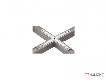 X Shape Connector Plate To Suit Vibe LED Single Circuit Track Lighting VBL