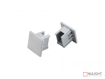 Vibe 3 Circuit Track End Cap In Silver VBL