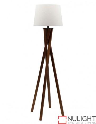 Jasmine 1 Light Floor Lamp COU