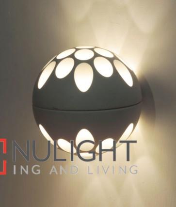 JEDI WALL INTERNAL LED Round 20W 3000K SAND White Aluminium + Steel OD140mm (2160 Lumens) CLA