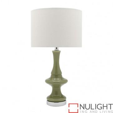Lalah 1 Light Table Lamp Green COU