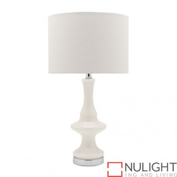 Lalah 1 Light Table Lamp White COU
