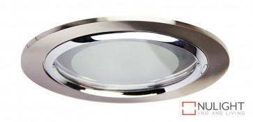 Vida 140 Round Glass Covered Downlight Br.Chr ORI