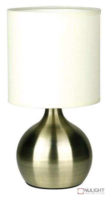 Lotti Touch Lamp Antique Brass ORI