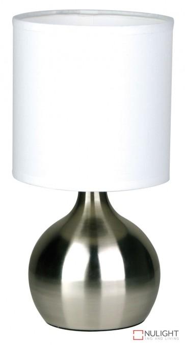 Lotti Touch Lamp Brushed Chrome ORI