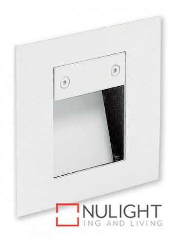 Square Step Light Led White ASU