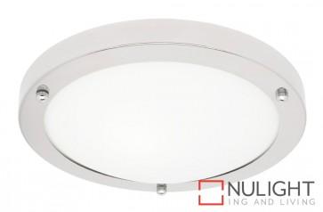 Noosa 1 Light Bathroom Ceiling Flush MEC