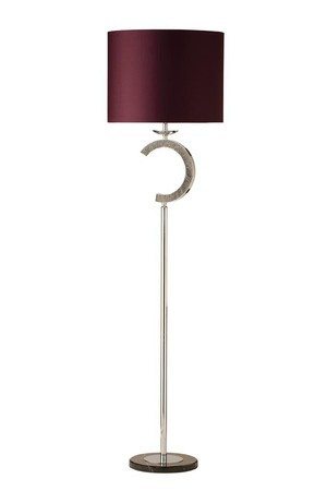 693 Chanel   Polished Chrome Floor Lamp