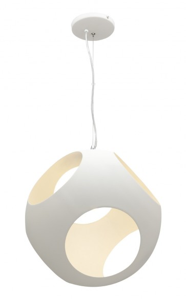 Callum Pendant in White Mercator Lighting