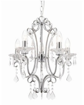 Constance 5 Light Pendant Mercator Lighting