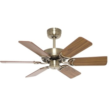 Hamilton 90cm Ceiling Fan with Timber Blades Mercator Lighting