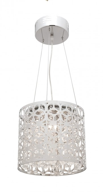 Remi 5 Light Pendant in Brushed Chrome Mercator Lighting