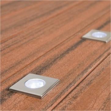 Seattle 5 Light Square Deck Light Kit Mercator Lighting