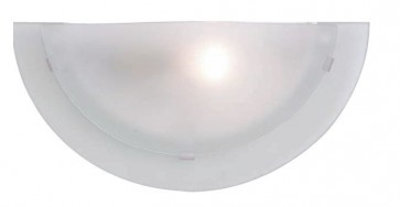 Vista One Light Wall Sconce in Brushed Chrome Mercator Lighting