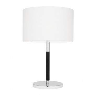 Westwood One Light Table Lamp in Chrome / Black Mercator Lighting