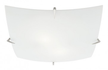 Yale 2 Light Exterior Square Ceiling Flush Mount Mercator Lighting