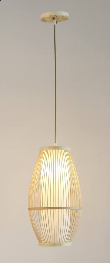 Nikko Exquisite Natural Timber Pendant Light in Natural Sand Colour Citilux