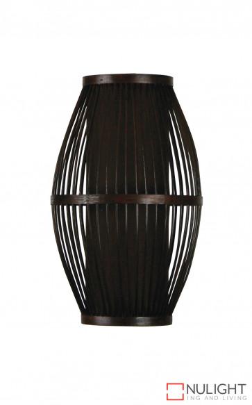 Chocolate cane pendant shade ORI