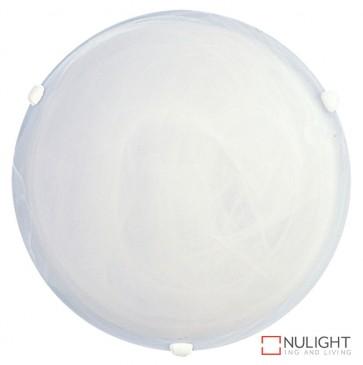 Remo 40Cm White Clips Alabaster Oyster ORI
