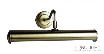 Picture Light 350Mm Antique Brass ORI
