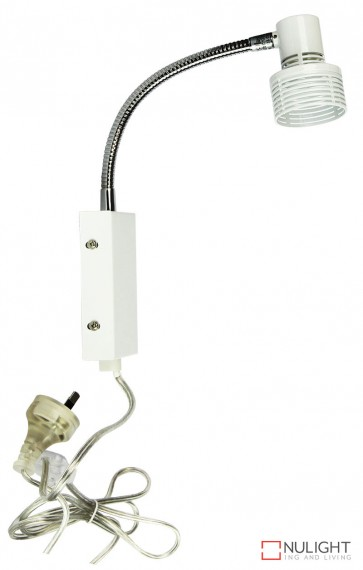 Zip Diy Wall Light With Cordline Switch In White ORI