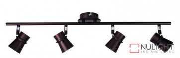 Yarra 4 Light Led Ready Spotlight Bronze ORI