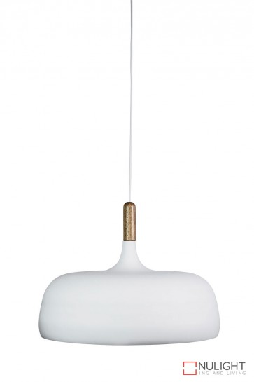 Malt.48 Single Pendant Matt White ORI