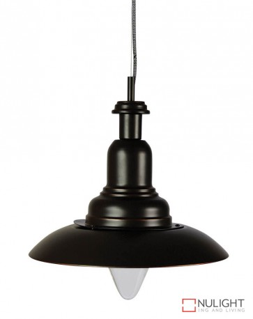 Capple Single Pendant Oil Rubbed Bronze ORI