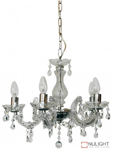 Marie Therese 5Lt Pend Clear And Chrome ORI