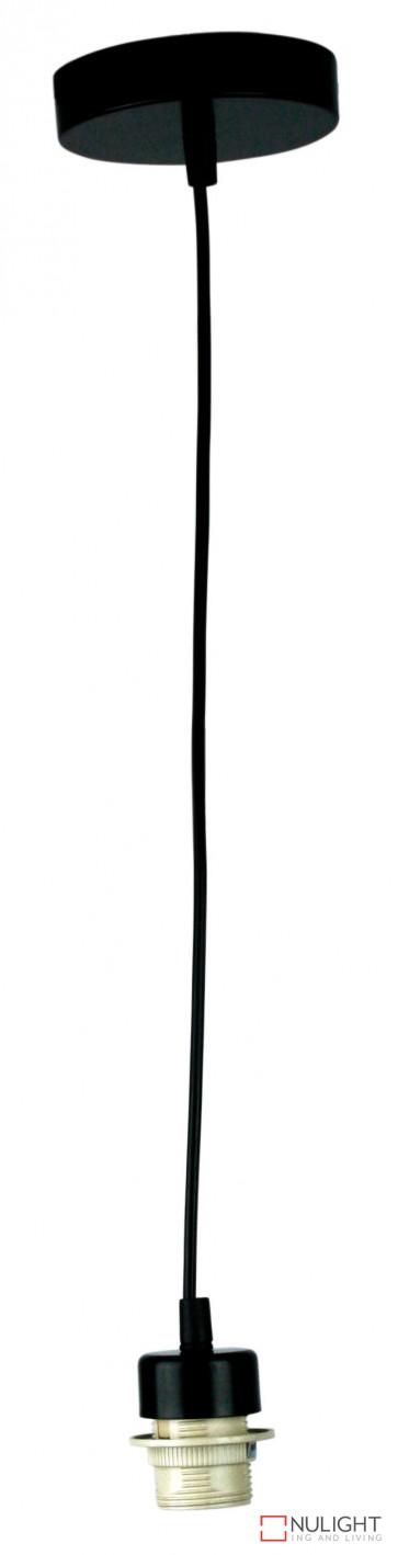 Parti Cord Suspension Black With Black Flex E27 ORI