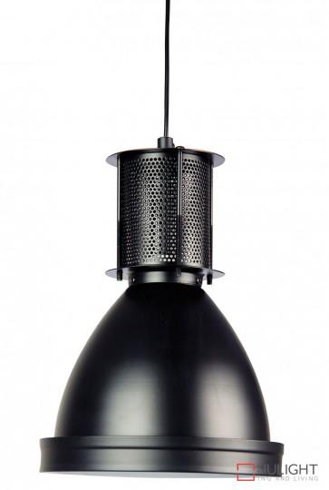 Bay 19 Industrial Single Pendant Black ORI