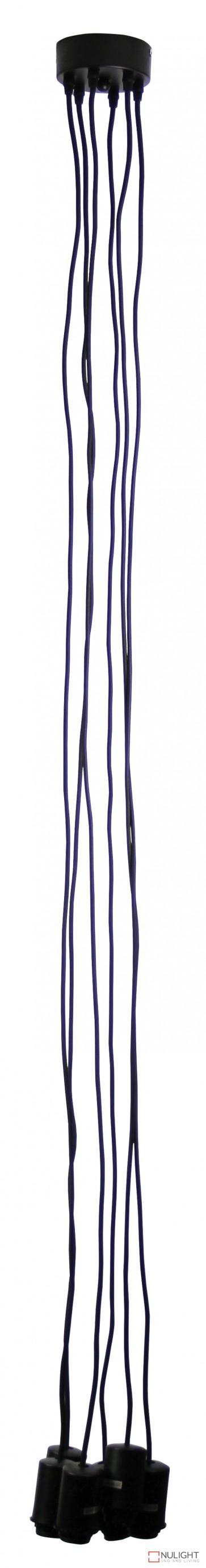 Pop 6-Light Pop Dropper Black ORI