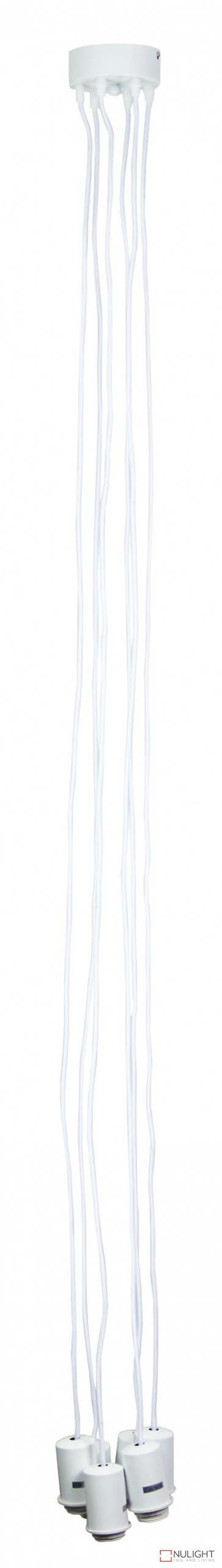 Pop 6-Light Pop Dropper White ORI