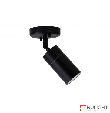 Zeta Single Adjustable Spot Light Black - 240V ORI