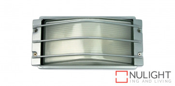 Curved Glass Outdoor Light with Guard ORI