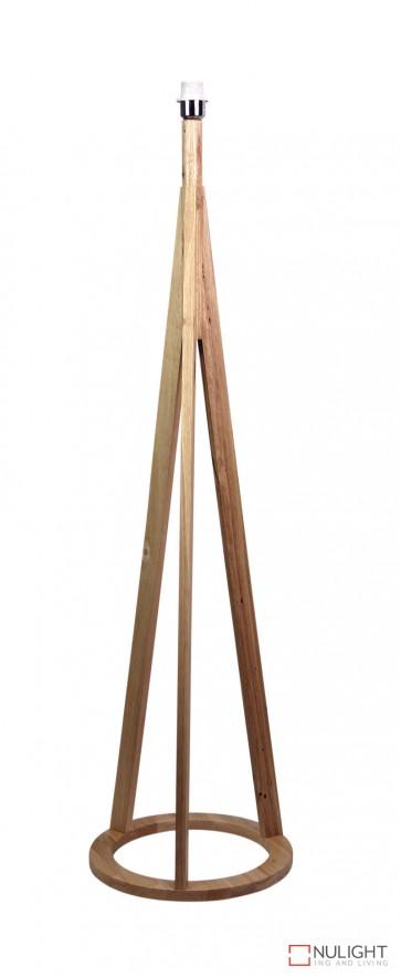 Stabb Floor Timber Tripod Lamp Base E27 ORI