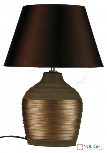 Liano Copper And Brown Ovoid Base And Shade ORI