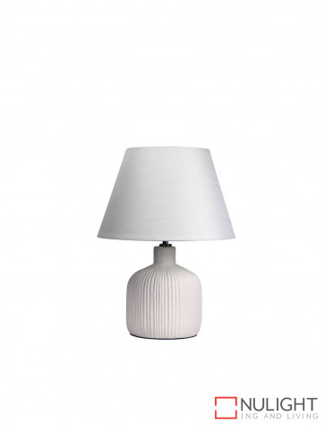 Terra Small Table Lamp Antique White ORI