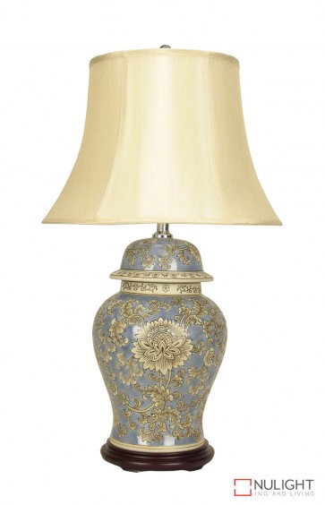 Lifen Chinese Ceramic Table Lamp With Shade ORI